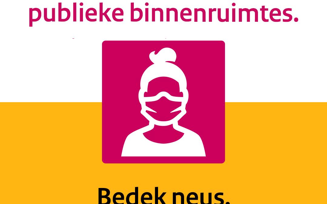 Aanvullende Coronamaatregelen vanuit de gemeente Roosendaal per 01-10-'20